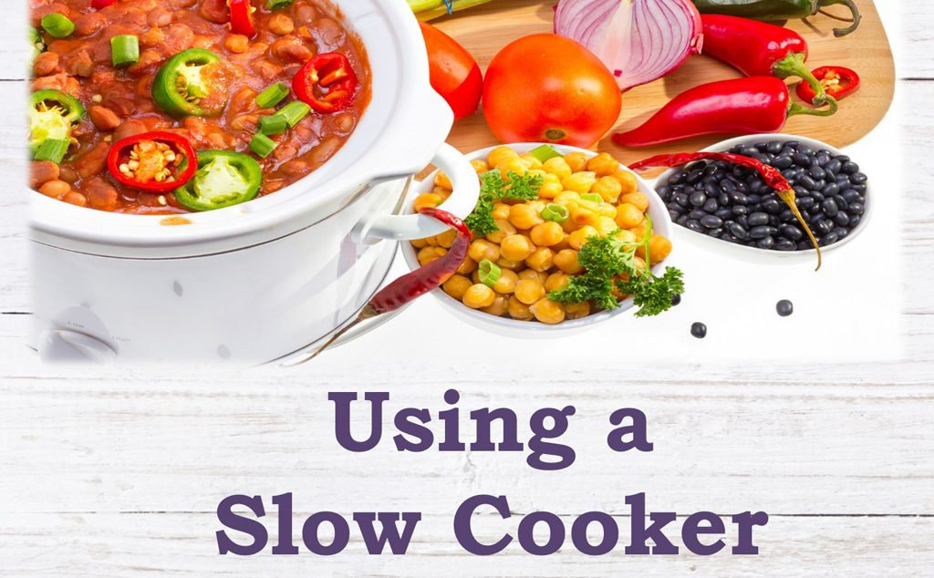 WIC healthy lifestyle guide using a slow cooker